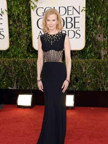 Nicole Kidman cada vez es una experta en las alfombras rojas