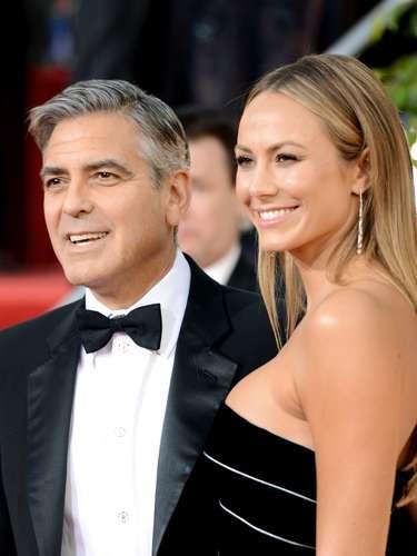 George Clooney y su novia Stacy Keibler