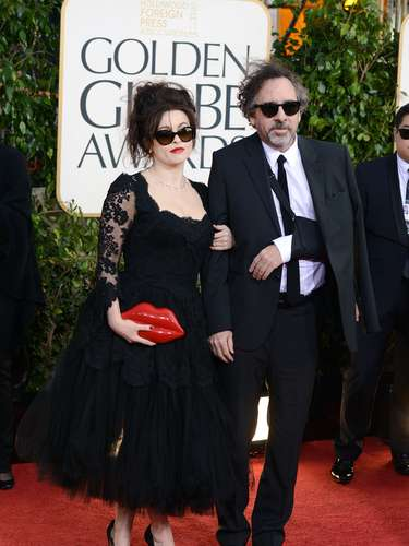 La actriz Helena Bonham Carter y su esposolesionado, el director de \