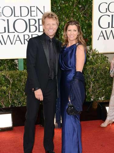 El cantante Jon Bon Jovi y su esposa Dorothea Hurley.