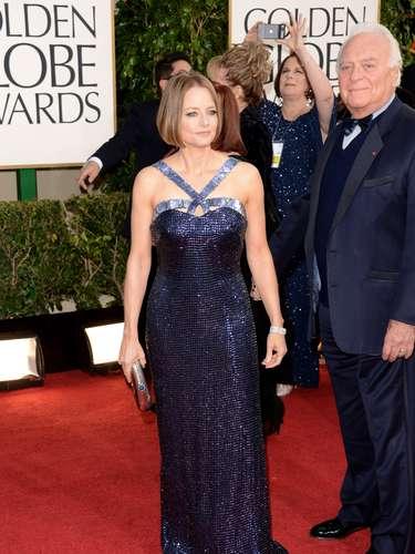 PEOR: Jodie Foster no es una fashionista y nunca lo será, que se acostumbre a estar en las peores vestidas.
