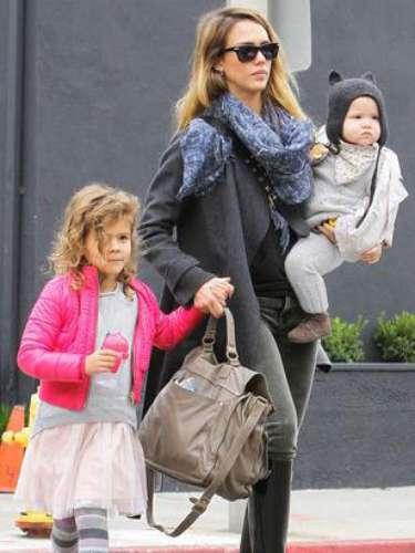Jessica Alba dio a luz a su hija Haven en agosto de 2011.