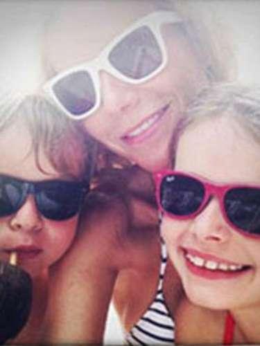 Apple y Martin Moisés, los hijos de Gwyneth Paltrow y Chris Martin, podrían ser grandes amigos del bebé de Kim