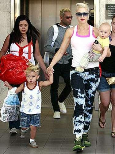 Gwen Stefani y su hijo