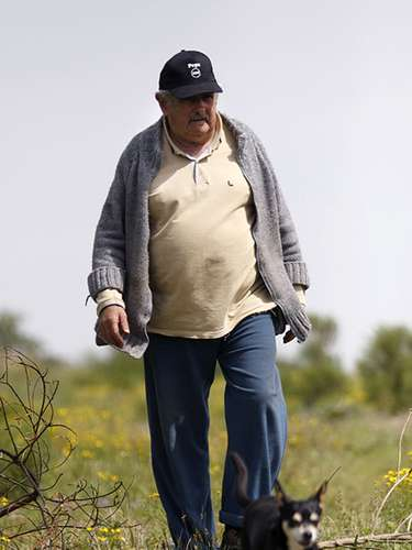 During his prison years, Mujica spent up to 12 months without taking a shower, and his cell mates were a little frog and the rats he shared the bread with, Mujica has mentioned.