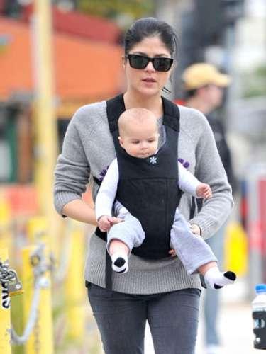 Selma Blair dio a luz a su hijo Arthur en julio de 2011.