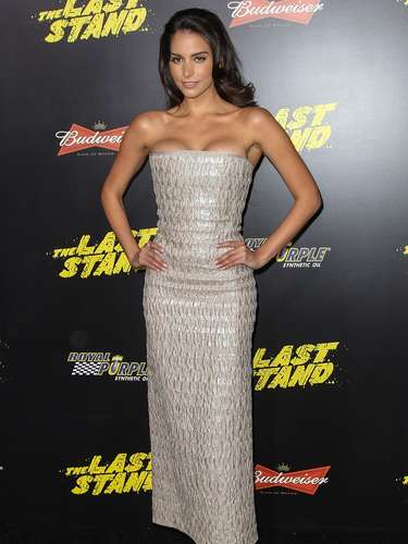 What did you think of Genesis Rodriguez's outfit? (Terra USA/Armando Tinoco)