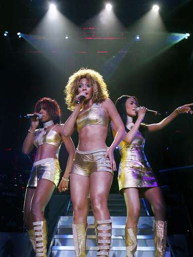 To celebrate Destiny's Child's return, we're going to take a walk down memory lane and through the R&B girl group's on stage performances. Take a look at Beyonce, Kelly and Michelle in various sexy outfits in concert throughout the years. Their upcoming compilation album, \