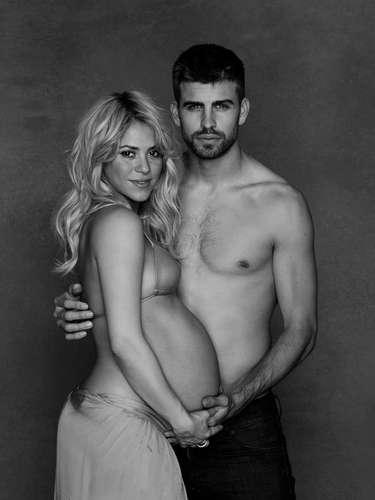 Shakira ha sido la última en posar con el vientre de embarazada desnuda pero antes, otras celebrities ya se habían apuntado a esta moda.