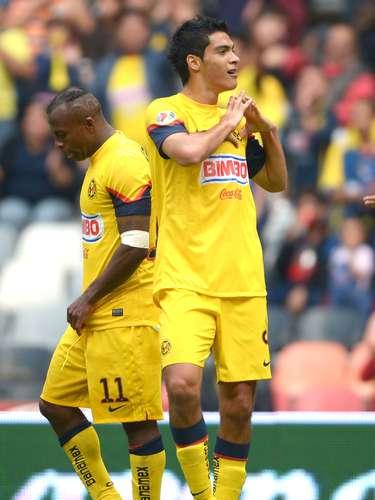 Delantero - Raúl Jiménez - América. El campeón olímpico tuvo una gran tarde al marcar un doblete en la goleada ante Atlante