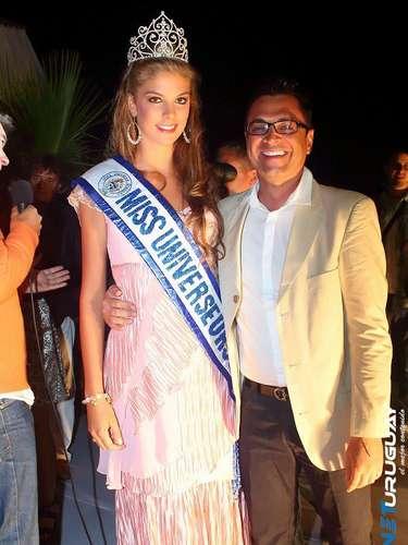 Tras una reñida competencia inicial entre 350 jóvenes, durante el certamen nacional, de las cuales fueron elegidas 25 como finalistas, Micaela fue quien se llevó el título y la corona de Miss Universo Uruguay 2013.