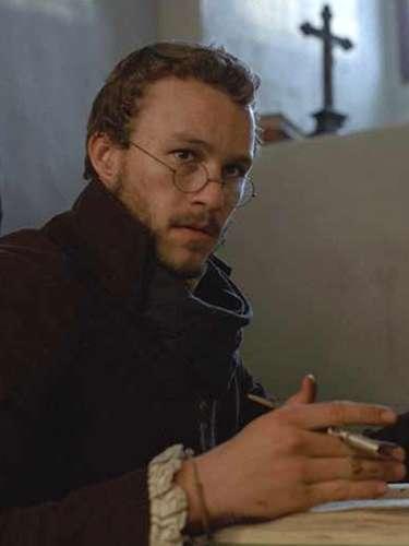 También en 2005, Heath compartió el estelar con Matt Damon en 'Los Hermanos Grimm', dirigido por Terry Gilliam, el hombre responsable de 'Doce Monos'.