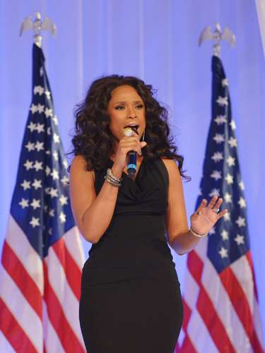 Jennifer Hudson had the honor of performing, 'Let's Stay Together,' the song the President Barack Obama and his wife, First Lady Michelle Obama danced to last night at the Presidential Inaugural Ball in Washington, D.C.