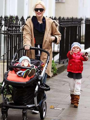 KINGSTON Y ZUMA NESTA ROCK, hijos de la vocalista de No Doubt, Gwen Stefani, y el músico Gavin McGregor Rossdale.