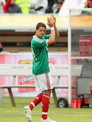 ¿Será que se siente opacado por lo que ha hecho Javier Hernández?