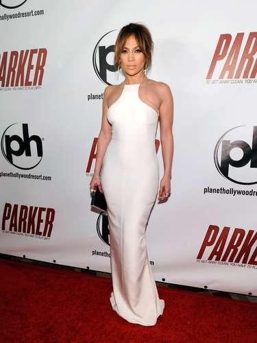 La premiere se llevó a cabo en Las Vegas donde Jennifer lucía espectacular