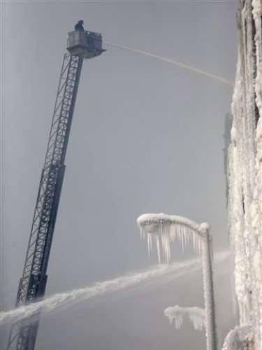 En algunas zonas se registraron temperaturas inferiores a los 43 grados bajo cero.