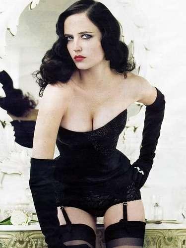 Eva Green: esta bella ojiverde saltó a la fama en 2005 con la película 'Cruzada' al lado de Jeremy Irons, pero después se consagró como \