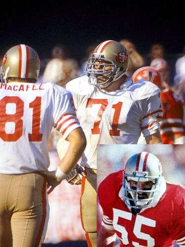 Keith y Jim Fahnhorst. Los Fahnhorst fueron jugadores de los 49ers de San Francisco. Keith jugó los SBXVI y SBXIX mientras que Jim jugó en el SBXXIII.