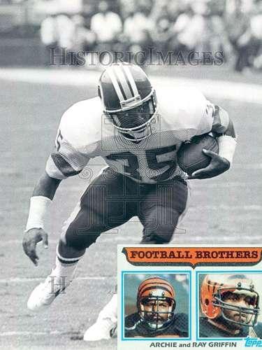 Archie, Ray y Keith Griffin. Son los únicos tres jugadores que vieron acción en Super Bowl. Archie y Ray Griffin jugaron con los Bengalíes de Cincinnati en el SBXVI mientras que Keith jugó con los Pieles Rojas de Washington en el SBXXII.