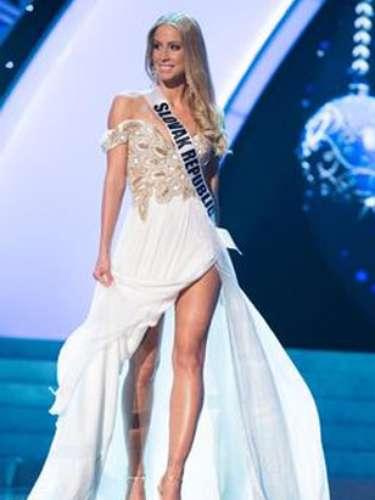 Miss República Eslovaca, Lubica Stepanová.
