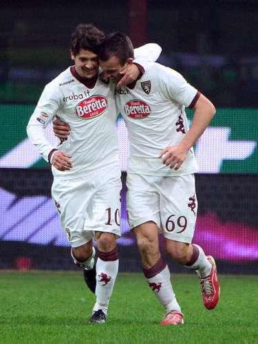 Riccardo Meggiorini ponía contra las cuerdas a Inter al lograr el segundo gol de Torino.