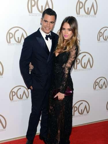 Jessica Alba y su esposo Cash Warren, de las parejas más consolidadas en Hollywood