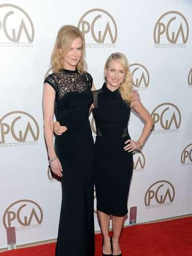 Las amigas inseparables, Nicole Kidman y Naomi Watts