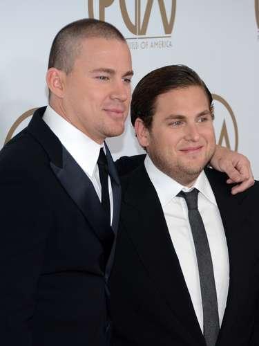 Un nuevo 'bromance' nace en Hollywood: Channing Tatum y Jonah Hill. ¡Cuidado George Clooney y Brad Pitt!