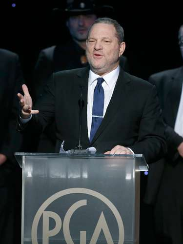 Harvey Weinstein en su discuso al aceptar el premio 'The Milestone Award'