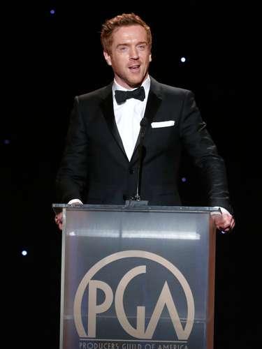 La galanura de Damian Lewis se hizo presente en los Producers Guild Awards. La serie de la que es protagonista, 'Homeland', ganó en la categoría de Mejor serie dramática de televisión