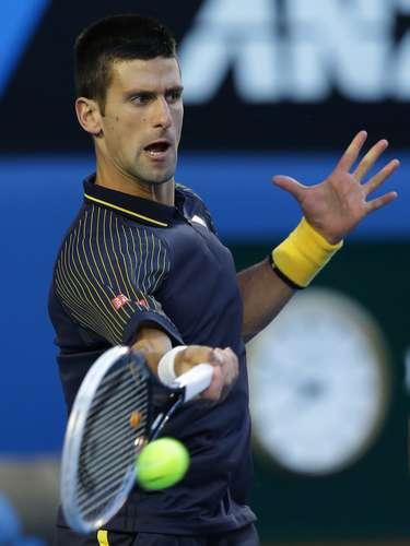 Los dos tenistas mostraron gran condición física.