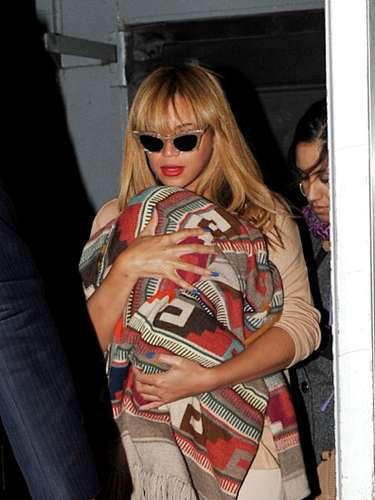 La hija de Beyonce y Jay Z se llama Blue Ivy, en honor al color preferido de la pareja.