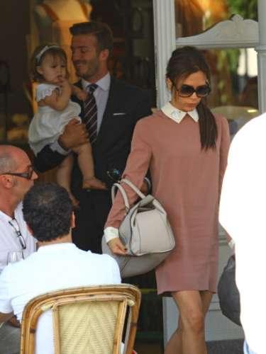 Harper Seven Beckham es el nombre de la primera hija de David y Victoria.