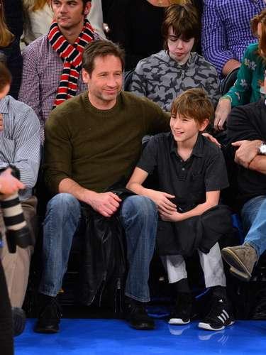 El hijo de David Duchovny se llama Kyd Miller, una adaptación de \
