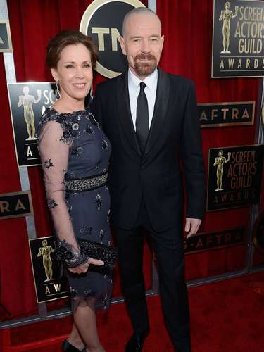 Breaking Bad actor Bryan Cranston & wife Robin Dearden