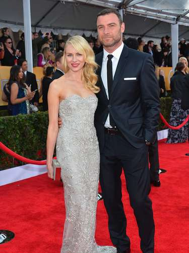 'The Impossible' actress Naomi Watts & hubby actor Liev Schreiber