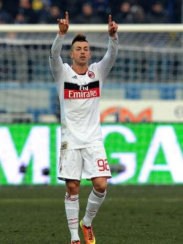 Stephan El Shaarawy nuevamente fue la figura del Milan, que se impuso con lo justo en el campo del Atalanta.
