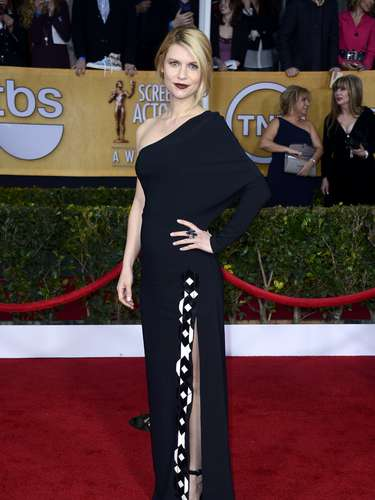 WORST. Claire Danes and her exposed shoulder Givenchy dress did nothing for her figure with it's irregular shape.