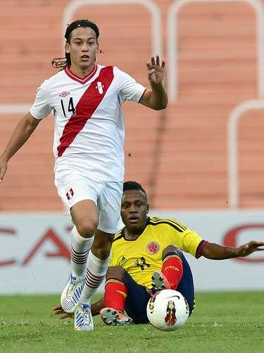Colombia venció 1-0 a Perú en la tercera fecha del hexagonal final y clasifica al Mundial de Turquía. Por su parte Perú deberá vencer a Ecuador y Chile si quiere seguir soñando con el Mundial de la categoría.
