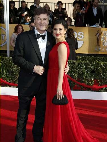 Alec Baldwin y su guapa esposa Hilaria Thomas