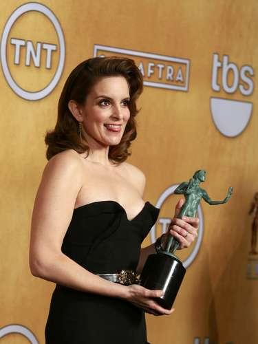 Mejor actriz en serie de comedia:Tina Fey - 30 Rock
