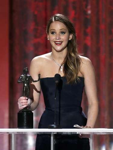 Jennifer Lawrence gana como Mejor Actriz por \