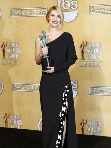 Actress Claire Danes holds the award for outstanding performance by a female actor in a drama series for her role in \