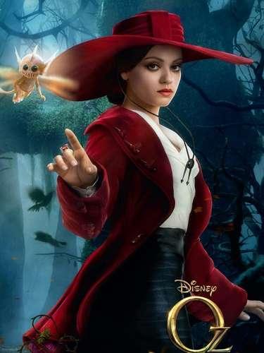 El filme fantástico de Sam Raimi, 'Oz, El Poderoso', llegará a salas de cine en México a mediados de 2013, pero mientras tanto te ofrecemos a los personajes principales de ésta precuela del clásico de 1939, 'El Mago de Oz'. Mila Kunis interpreta a la bruja del Oeste 'Theodora' pero, ¿será buena o mala?