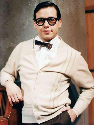 Rodrigo Vidal presumía su juventud en la telenovela 'Baila Conmigo' (1992) que protagonizaban Eduardo Capetillo y Bibi Gaytán.