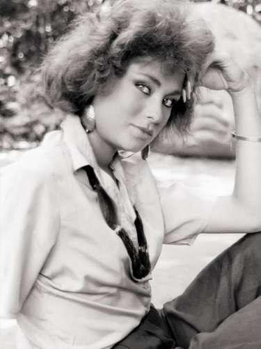 Así lucía Leticia Calderón en 1987 cuando realizaba su primer protagónico en la telenovela 'La Indomable'.