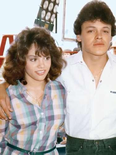 La llamada Reina de los Niños con Pedro Fernández hace 24 años cuando ambos protagonizaron la película 'Un Sábado Más'.