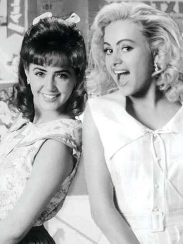 Andrea Legarreta tenía 21 años cuando compartió créditos con Paulina Rubio en la telenovela juvenil 'Baila Conmigo'.