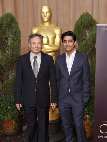 El Director Ang Lee, nominado en la categoría de Mejor director por \